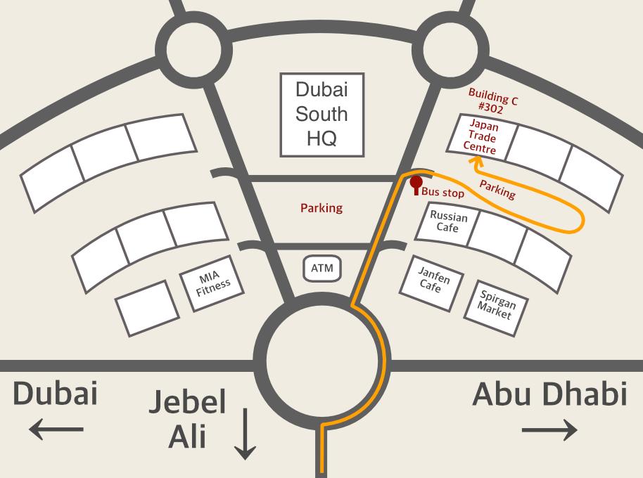 DWCHQ map